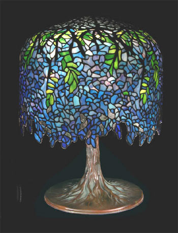 The 20th Century Lighting Co Reproduction Tiffany Style